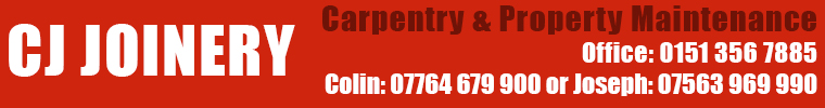 CJ Joinery and Carpentry